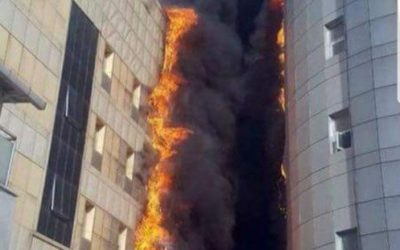 Istanbul Hospital Fire covered in ACP